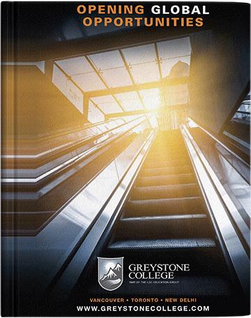 Catálogo Greystone College Vancouver